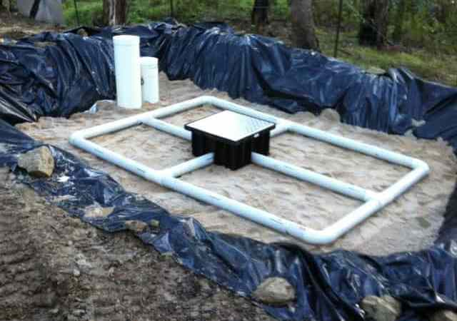 Septic Tank System - Secondary Wastewater Treatment